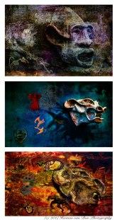 Triptych 'Earth Wind & Fire'